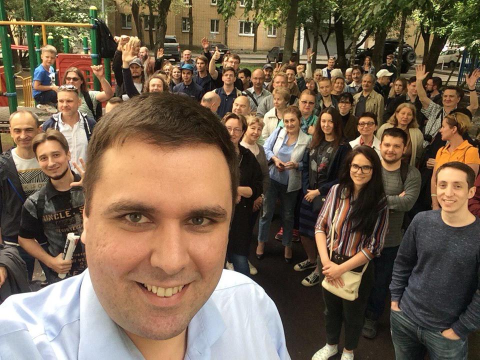 Константин Янкаускас — незарегистрированный кандидат в депутаты Московской городской думы седьмого созыва