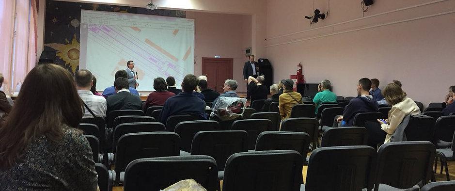 Публичные слушания по строительству метро в Зюзино
