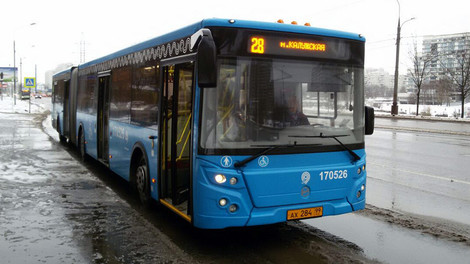 Два автобусных маршрута в районе Зюзино начнут работать без турникетов с 1 января 2018 года