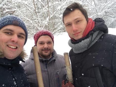 Штаб Зюзино помогает управе и Жилищнику убирать снег