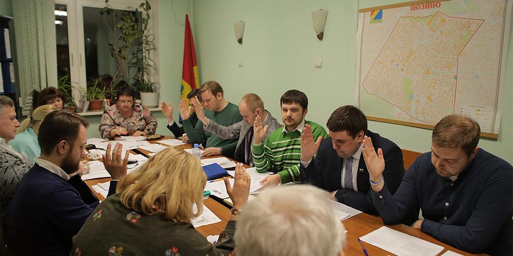 Совете депутатов Зюзино