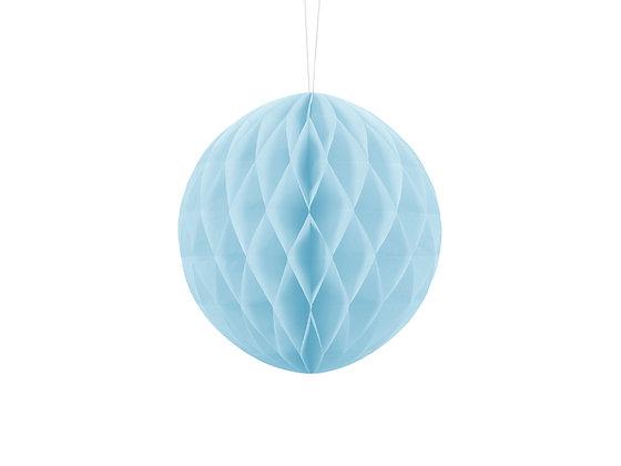 Kula bibułowa 10cm kolor niebieski