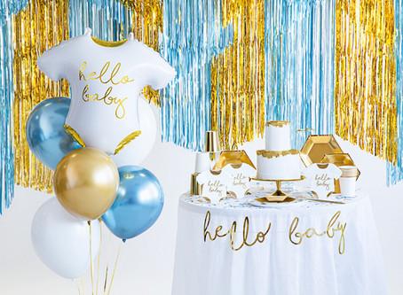 BABY SHOWER - Najlepsze dekoracje na przyjęcie!