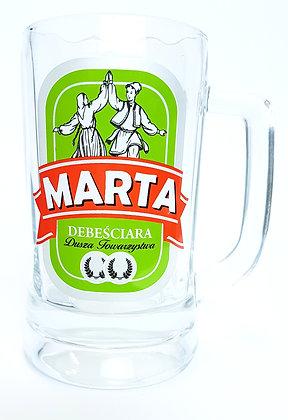 Kufel z imieniem Marta