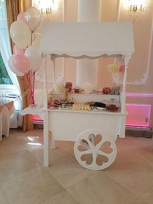 Candy bar wóz słodki stół do wypożyczenia na Twoją imprezę