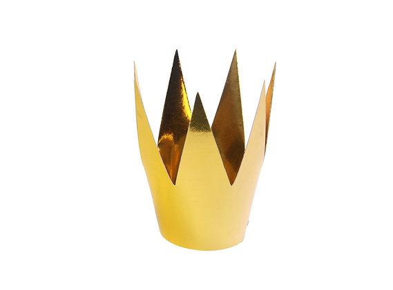 Korona na głowę kolor złoty