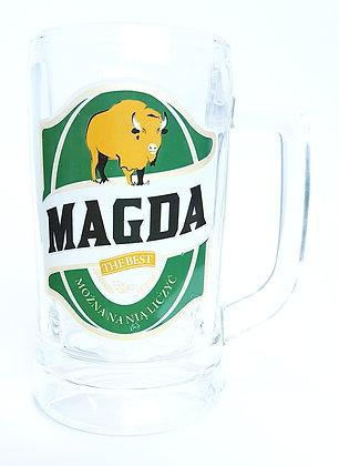 Kufel z imieniem Magda
