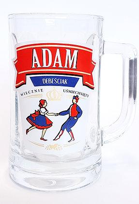 Kufel z imieniem Adam