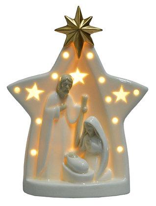 Świecznik szopka led prezent dekoracje świąteczne