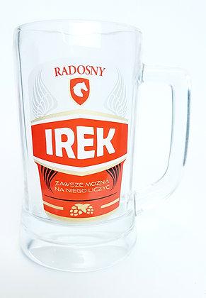 Kufel z imieniem Irek
