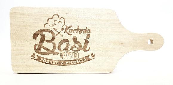 Deska do krojenia z imieniem BASIA