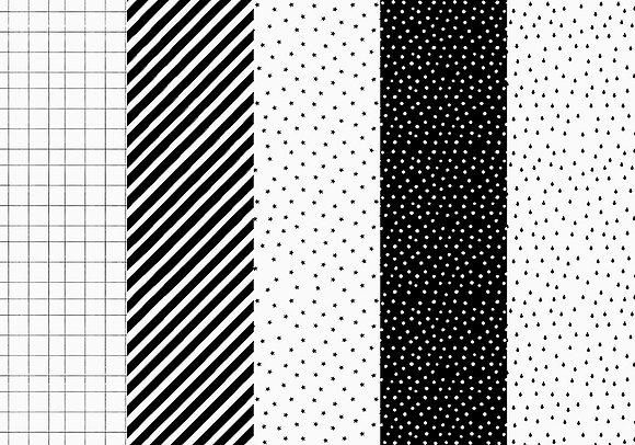 Papier do pakowania prezentów czarno-biały