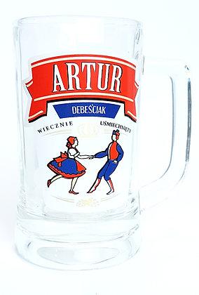Kufel z imieniem Artur