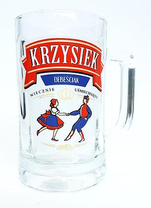 Kufel z imieniem Krzysiek