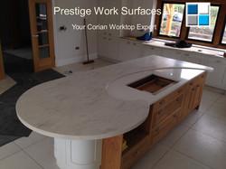 Your Corian Worktop Expert. Prestige Work Surfaces