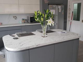 Mr & Mrs P Worksop. A stunning kitchen.