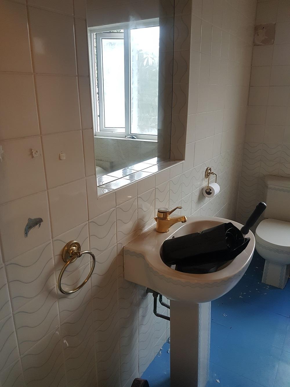 Bathroom Design Before