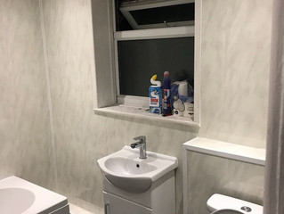 Only £3200. Complete new bathroom, designed, supplied & fitted.
