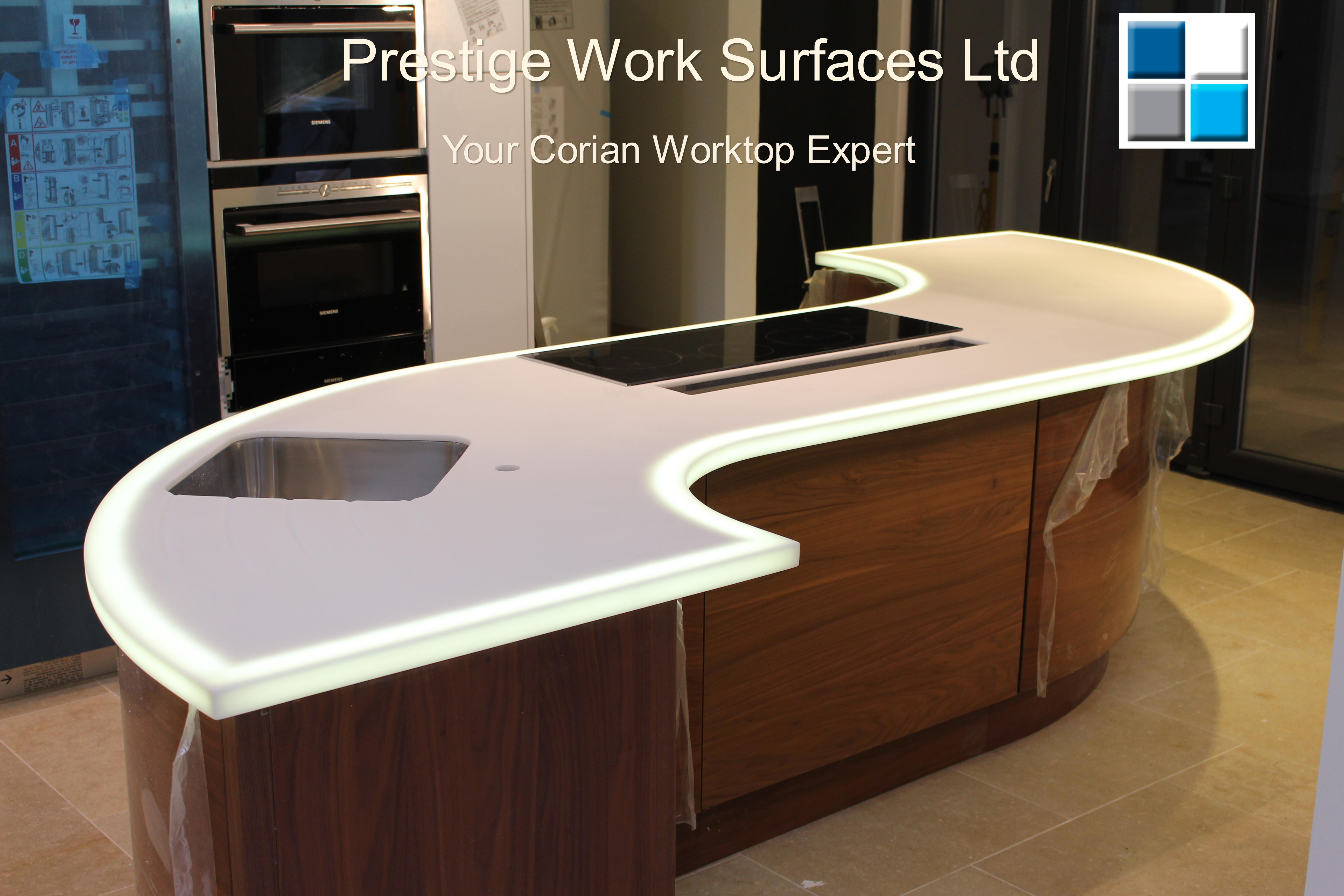 Your Corian Worktop Expert. Prestige Work Surfaces Ltd24