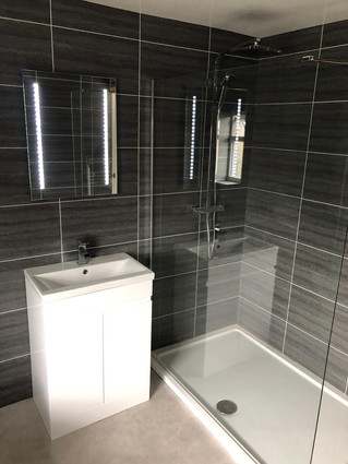 A new bathrrom for our client in Sheffield.