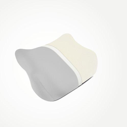 elativ - das orthopädische Kissen gegen Nackenschmerzen, mit grauem Überzug
