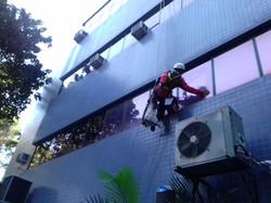 Limpeza de fachadas