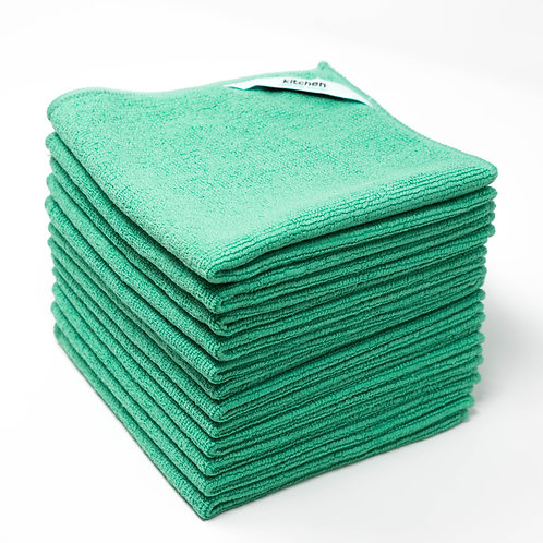 Kitchen Microfiber Cleaning Cloth (Bulk Pack)