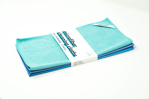 Microfiber Cleaning Cloth - All Purpose Kit (3-Pack)
