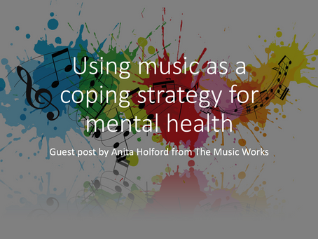 Using music as a coping strategy for mental health [guest post]