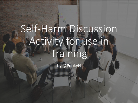 Self-Harm Discussion Starter Activity