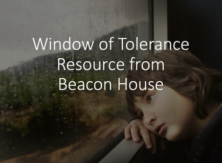 Window of Tolerance Resource from Beacon House
