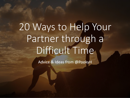 20 Ways to Help Your Partner through a Difficult Time
