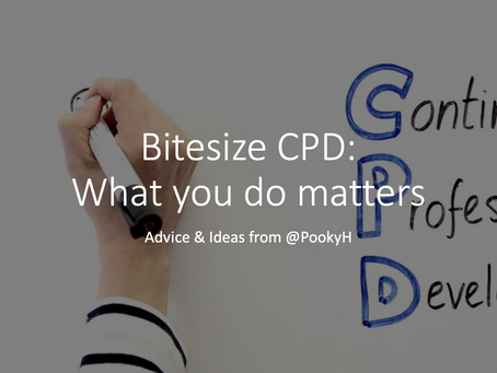 Bitesize CPD: what you do matters