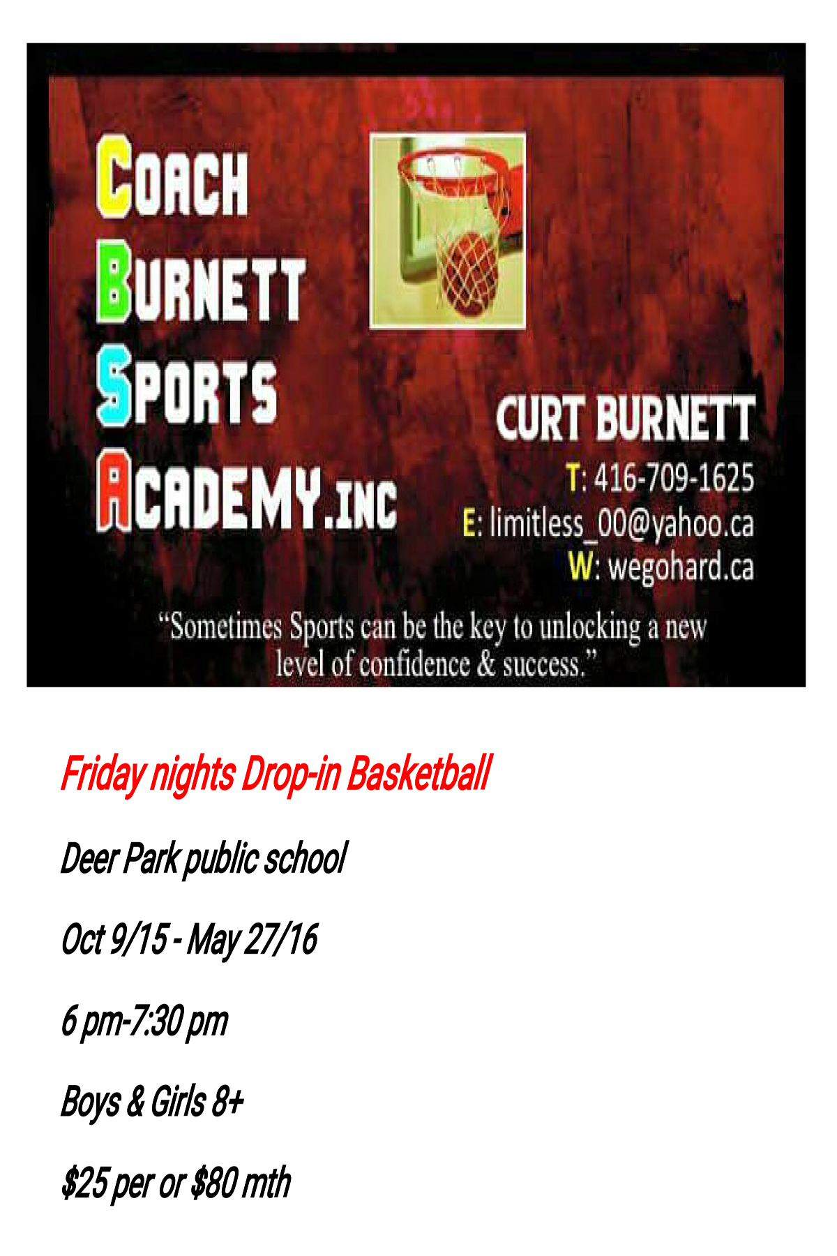 Friday night drop-in basketball 1