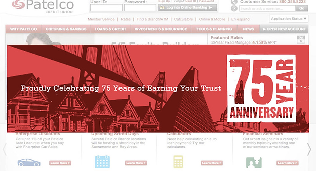 Patelco Credit Union Banner Ads Advertising