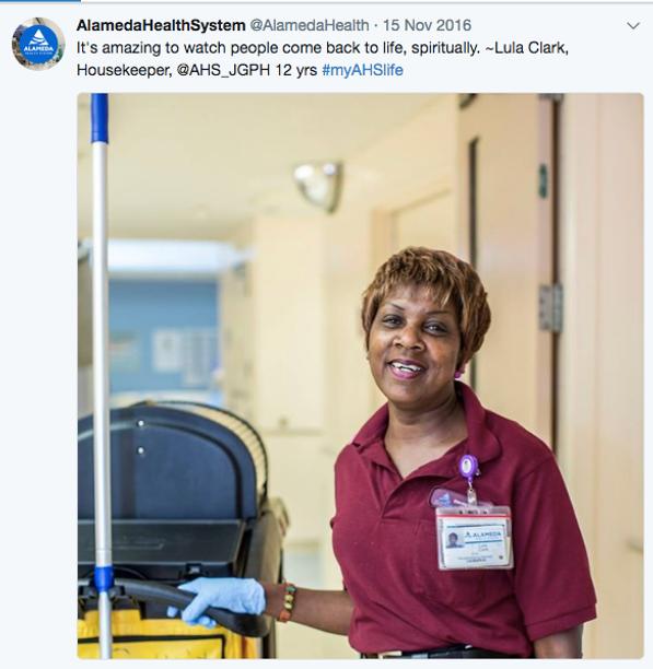 Alameda Health System Social Media Campaign