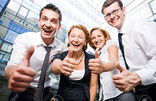 7647858-happy-office-workers-stay-outdoo