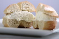 Plain Bagel and cream cheese
