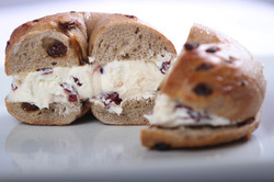 Cinnamon Raisin Bagel/cream cheese