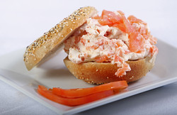 Everything Bagel/ Lox Cream Cheese