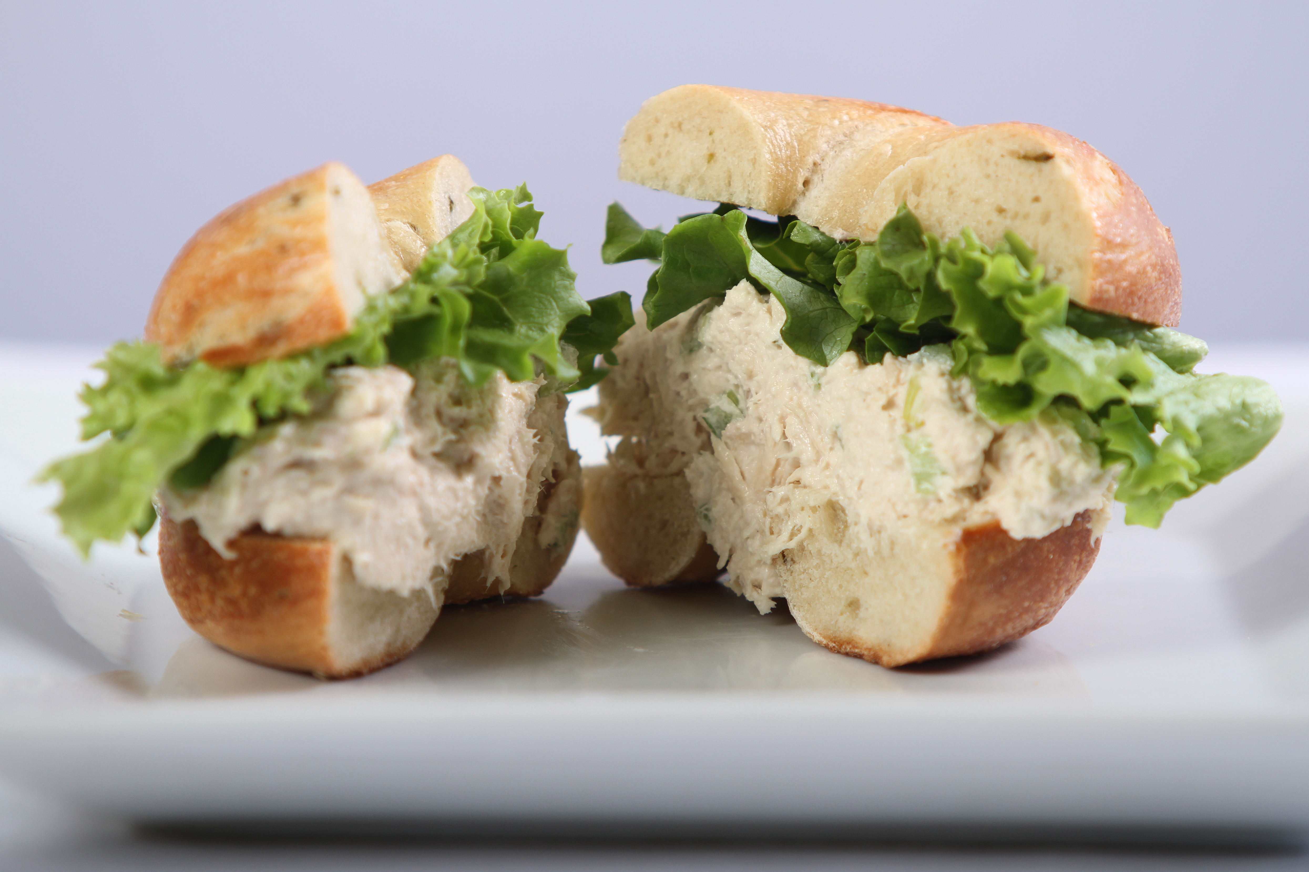 Tuna Sanwich on a Croissant