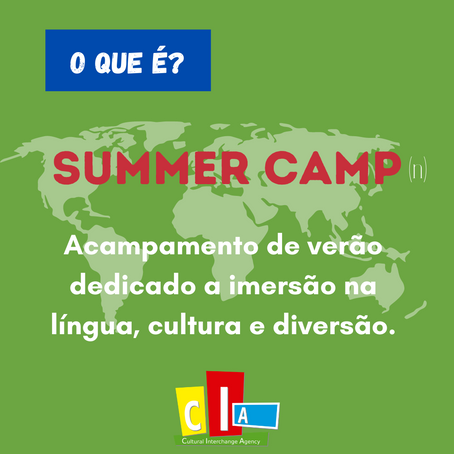 "#oqueé? ""Summer Camp"""