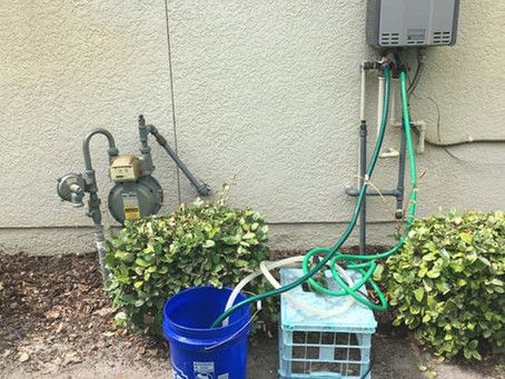 Cleaning Tankless Water Heater