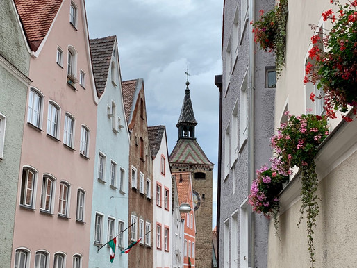 Postcards from the Romantic Road, Germany