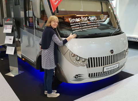 Great time at the NEC Motorhome show.