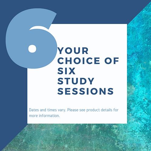 Six Study Sessions