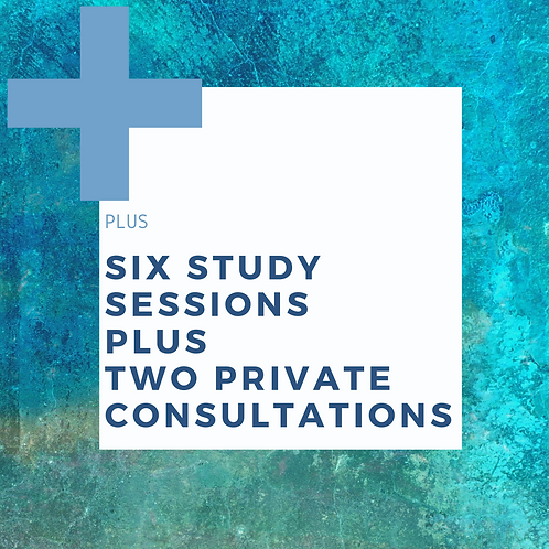 Plus Package: Six Study Sessions + Two Private Consultations