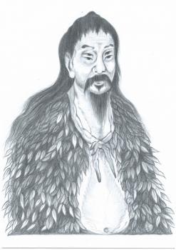 漢字の産みの親「蒼頡(Cāng Jié...