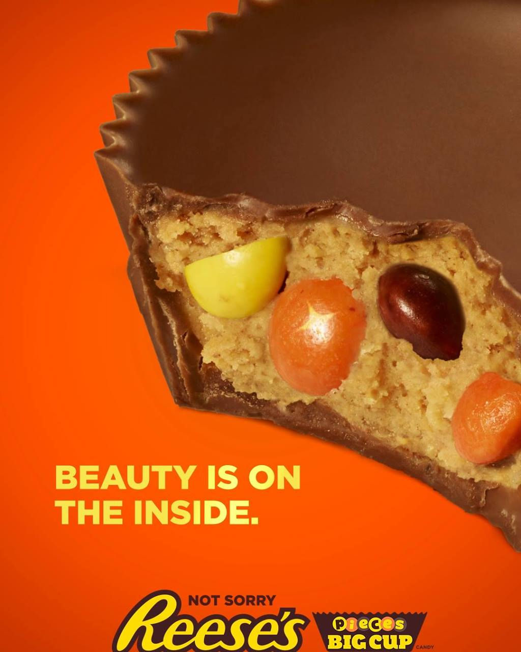 Reese's Pieces Cups - #NotSorry