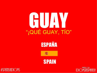 スペインで使えるスペイン語スラングその1